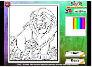 http://www.jogos360.com.br/the_lion_king_coloring.html