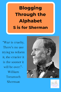 Sherman photograph from wpclipart.com and quote