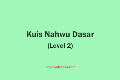 Contoh Soal Bahasa Arab 2