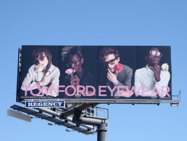 Tom Ford Eyewear SS17 billboard