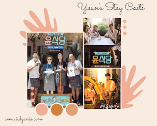Cast Youns stay pemeran utama variety show Youns stay