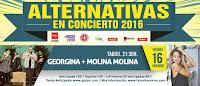 Alternativas en concierto presenta a Georgina y Molina Molina