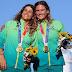 Martine e Kahena conquistam a medalha de ouro na vela