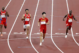 Lalu Muhammd Zohri Finis Ke-5, Gagal ke Semifinal 100 Meter Putra Olimpiade Tokyo