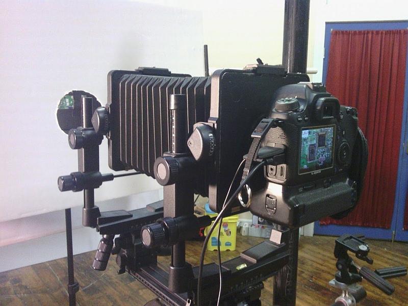 DIY Tilt Shift dSLR camera conversion