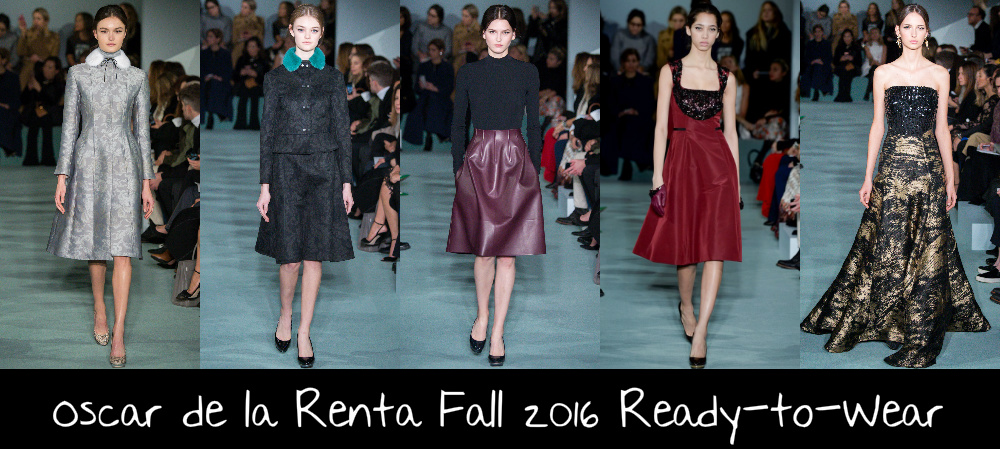 If I Was A Stylist: Runway Report: Oscar de la Renta Fall ...