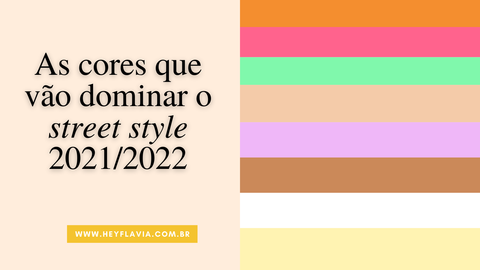 tendência de cores para 2022