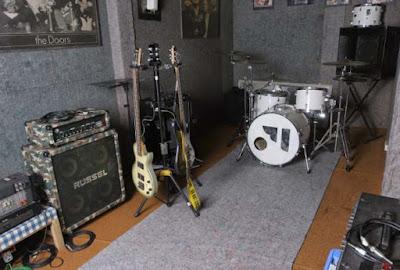 Bisnis studio musik modal kecil
