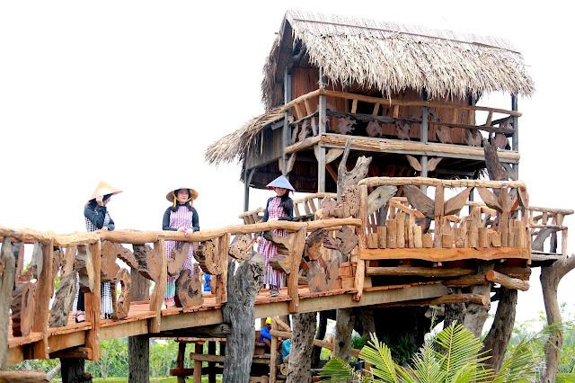 Điểm du lịch mới cho cộng đồng dân cư Chợ Mới, An Giang