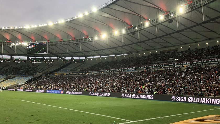 Flamengo x Madureira pela Taça Guanabara