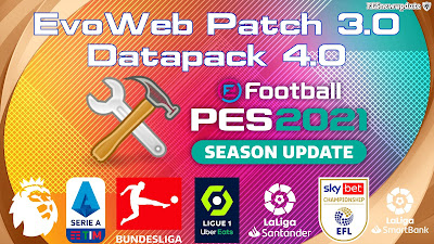 PES 2021 EvoWeb Patch 2021 Version 3.0 DataPack 4.0