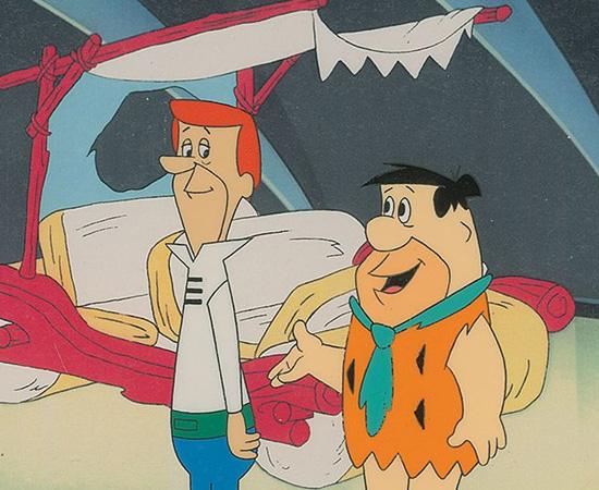 Os Jetsons e os Flintstones se Encontram