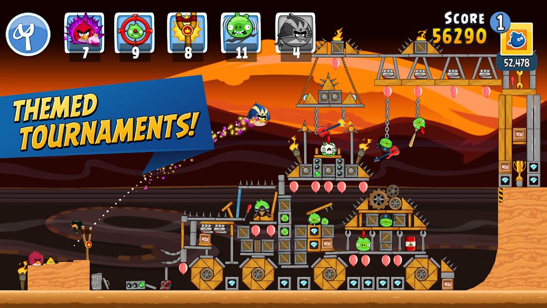 Angry Birds Friends Hileli Apk - Kilitli Özellikler Açık Özel Güç Hileli Apk