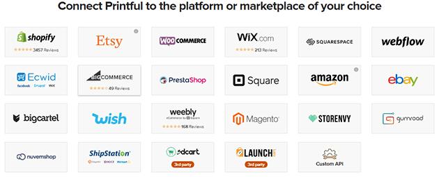 إختيار متجر العمل أو منصة التجارة الإلكترونية