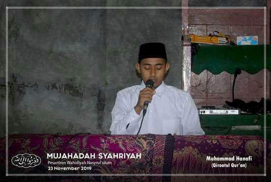 Pembacaan Ayat-Ayat Suci Al Qur'an Saudara Muhammad Hanafi