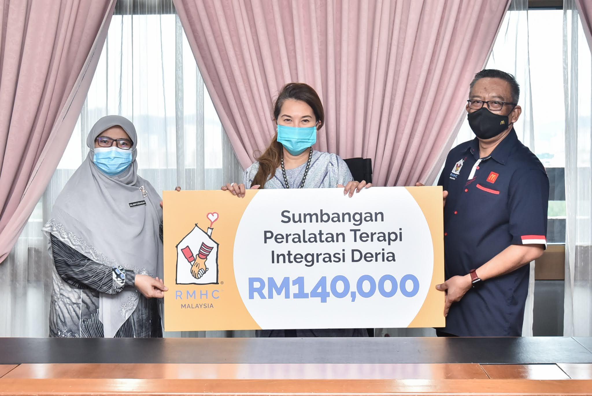 RMHC Malaysia Menyumbang Peralatan Terapi Deria bernilai RM140,000 sempena Hari Orang Kurang Upaya Sedunia