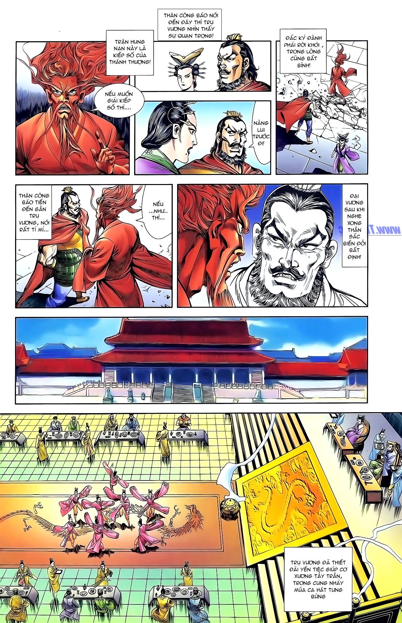 Cơ Phát Khai Chu Bản chapter 132 trang 21