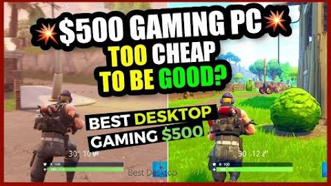 Best Desktop PC montaged Games $500