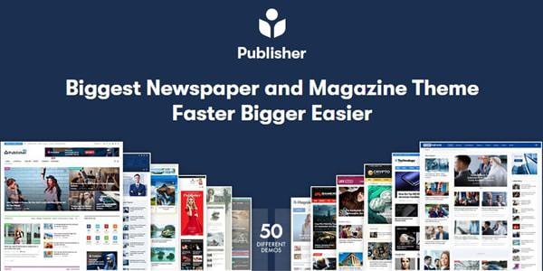 Publisher v7.8.0 - Newspaper Magazine AMP