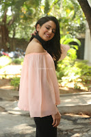 Rakul Preet Singh in lovely Pink Crop Top and Black Trousers at Jaya Janaki Nayaka success meet 038.JPG