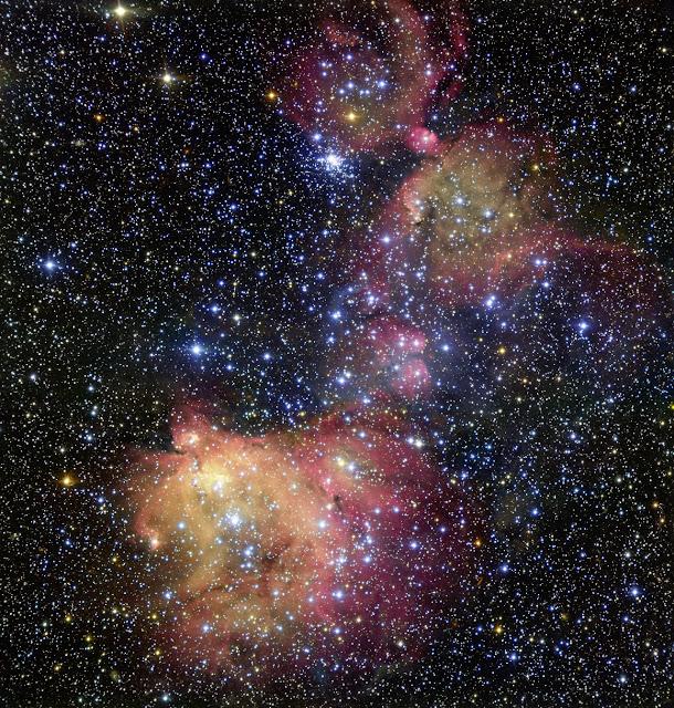 A beautiful instance of stellar ornamentation