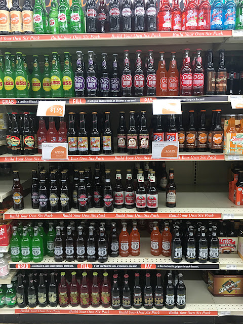 Lunds Soda Selection