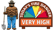 FIRE DANGER ELEVATED TO VERY HIGH in Northwest Montana