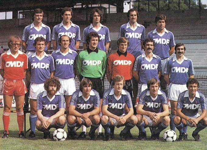 R.C STRASBOURG 1979-80.