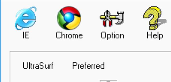 Ultrasurf - Download Ultrasurf 21.20 cho PC mới nhất để vượt tường lửa d
