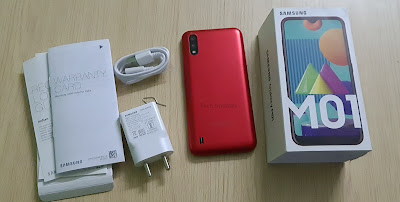 Samsung Galaxy M01 Unboxing, Photo Gallery