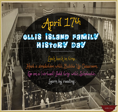 Host a simulation, go on a virtual field trip, or read about Ellis Island with your learners!