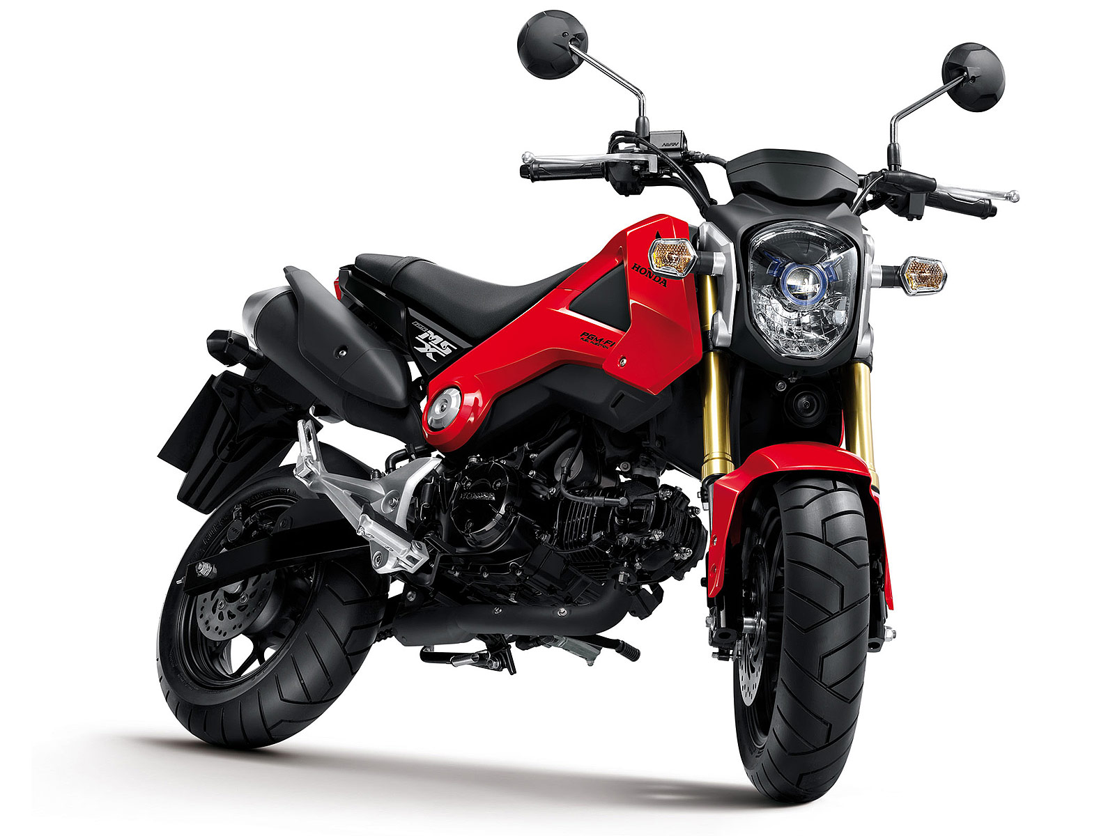 Gambar Motor 2014 Honda MSX125 pictures and specifications