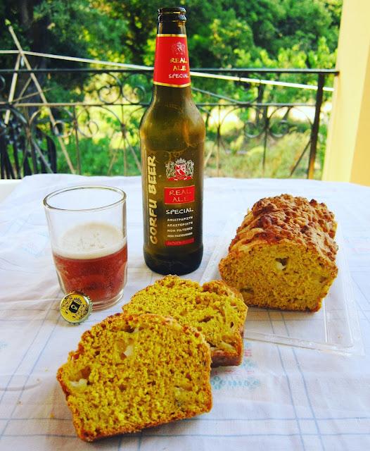ψωμί με μπύρα, ψωμί μουστάρδας, εύκολο ψωμί, μπυροψωμί, παράξενο πιρούνι, paraxeno pirouni, the odd fork, odd fork