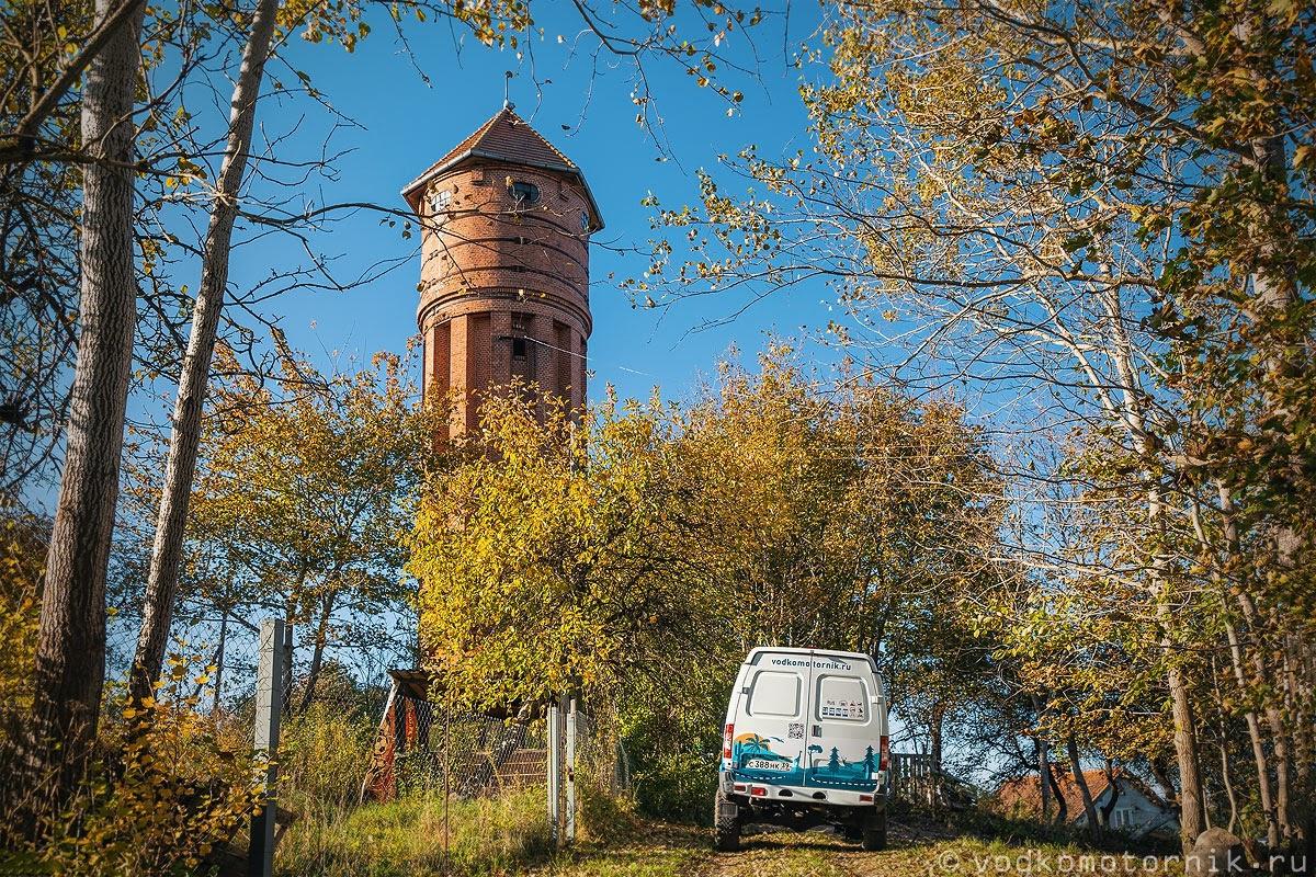Водонапорная башня в Домново