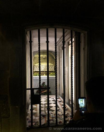 Cripta de Santiago | Camino de Santiago en autocaravana