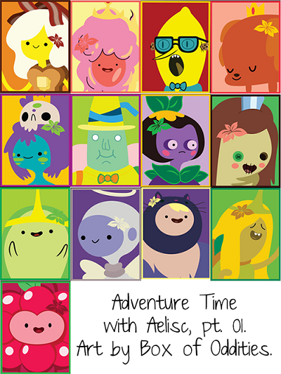Empire Sims 3 Adventure Time Posters by AeliscSims