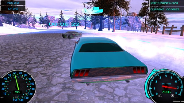 Frozen Drift Race Full Version