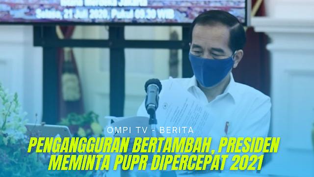 Pengangguran Meningkat Karena Pandemi, Jokowi Minta Proyek Padat Karya Dipercepat