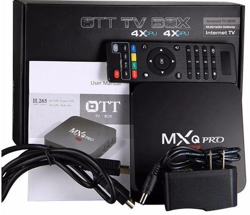 MXQ Pro: أندرويد تي في بوكس يدعم تشغيل الفيديو بدقة 4K