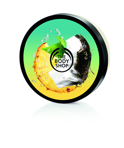 The Body Shop new Pinita Colada Collection Body Butter