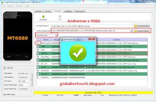 Download firmware dan cara flashing andromax v (ZTE-986) dengan mudah dan sukses
