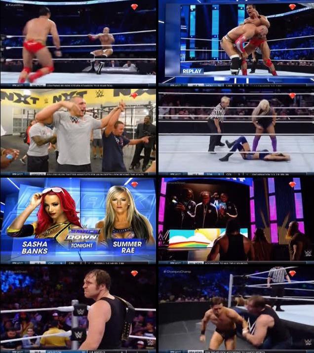WWE Thursday Night Smackdown 30 June 2016 HDTV 480p