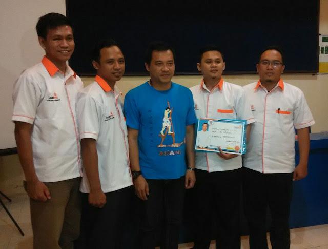 Anang Hermansyah bersama tim LAZISMU Jember