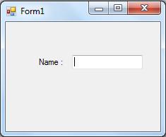 My first VB C# application