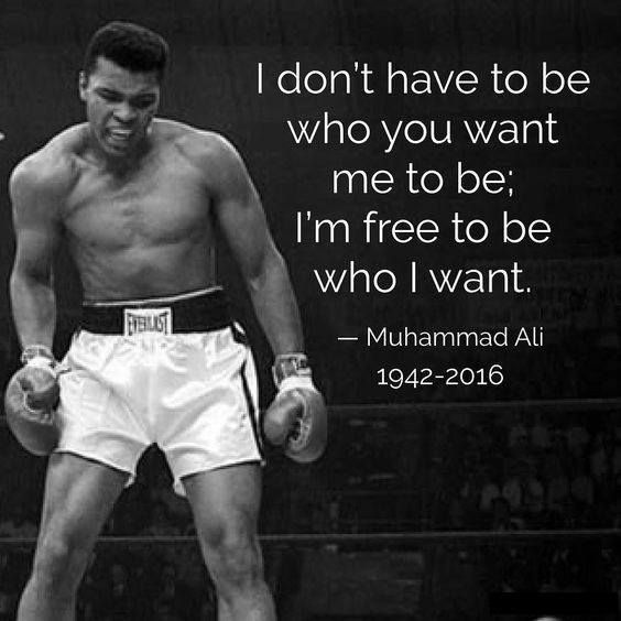 Ali Quotes on life, love and more