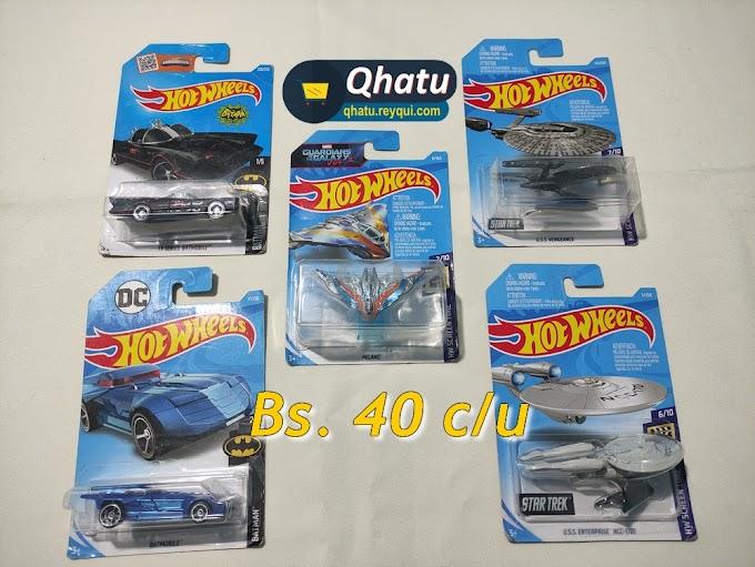 """(Bs. 15) Autos """"Hot Wheels"""" a escala: diferentes modelos"""