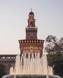 El Castillo Sforcesco de Milán