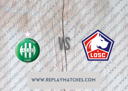 Saint-Etienne vs Lille -Highlights 21 August 2021