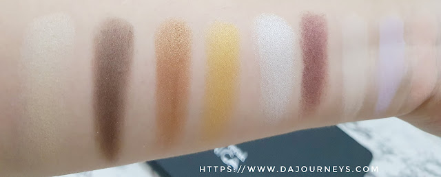 Review Mineral Botanica Tri Color Eyeshadow