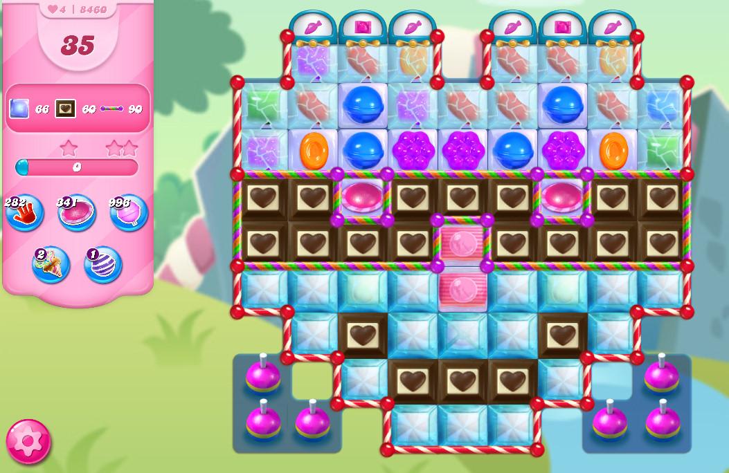 Candy Crush Saga level 8460